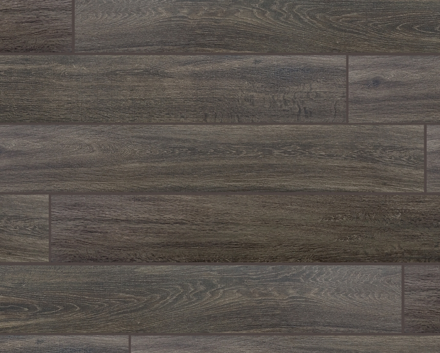 Wood Series Cafe 6 5x40 Wood Plank Porcelain Tile