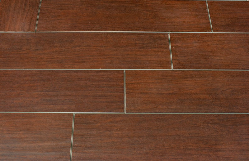 Hand scrape banyan 6x24 wood plank porcelain tile Wood pattern tile