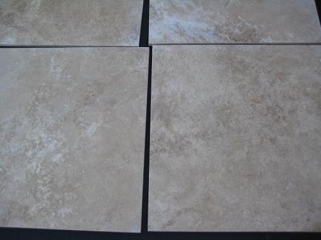 Travertine tuscany filled honed straight edge 16 x 16 tile for 16x16 floor tiles price