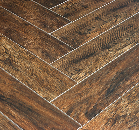 redwood mahogany 6x24 wood plank porcelain tile. Black Bedroom Furniture Sets. Home Design Ideas