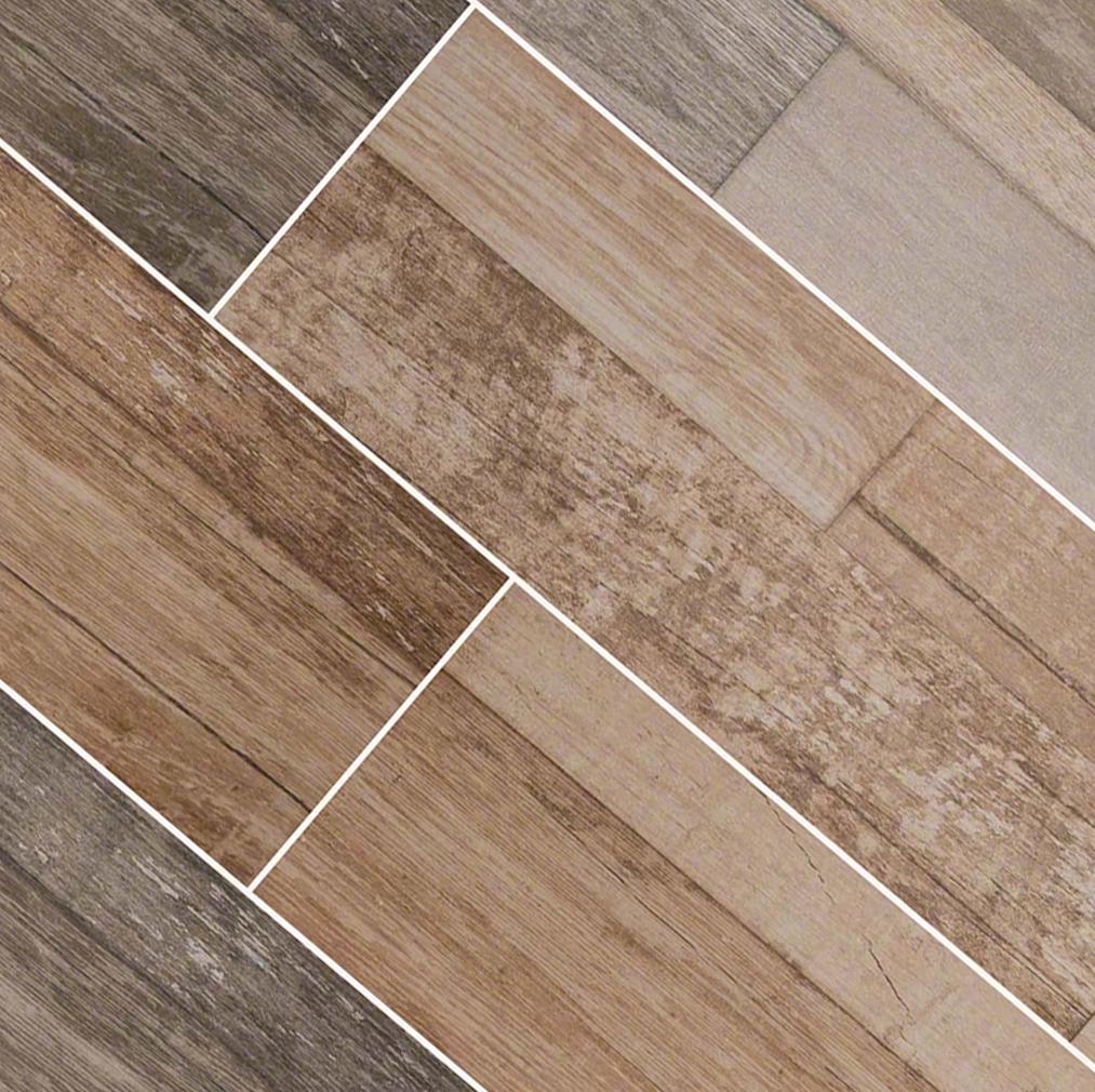 Seirra Beige 9x48 Wood Look Flooring