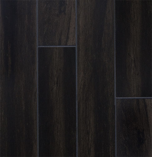 Black oak wood plank porcelain