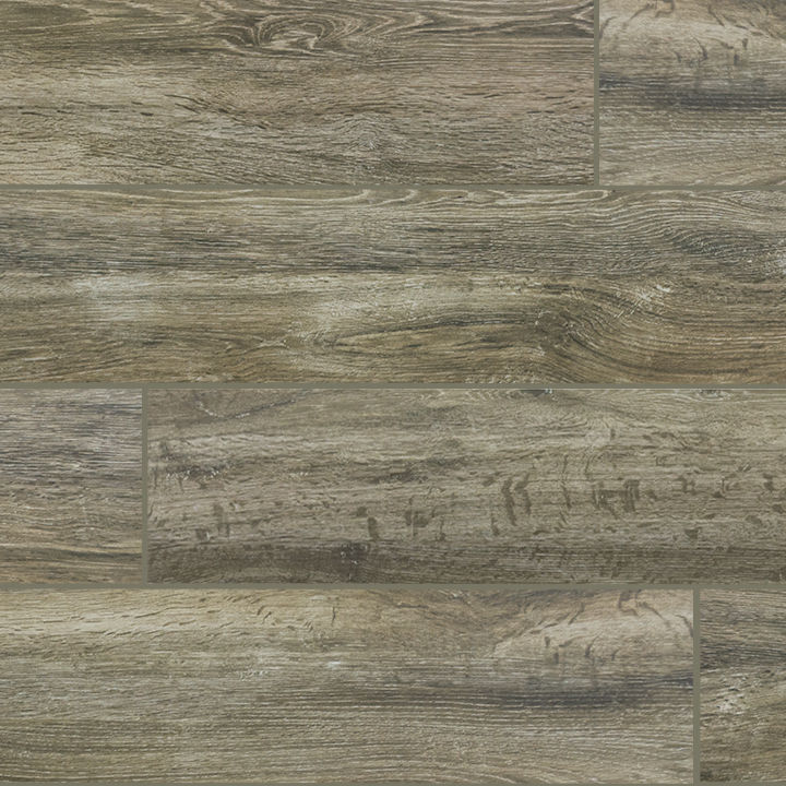 Wood Series Verde 6 5x40 Wood Plank Porcelain Tile
