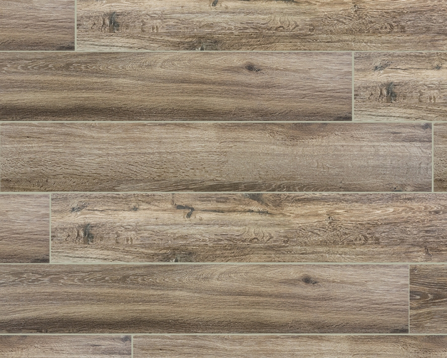 Wood series marrone wood plank porcelain tile Wood porcelain tile planks