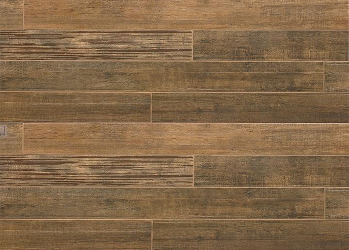 Barrique Series Brun Woodplank Porcelain Tile