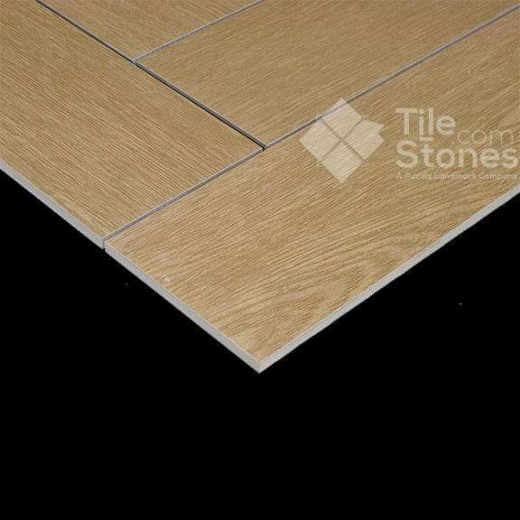 Wood Plank Porcelain Tile Cedar 6x24 Tiles