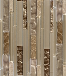 Glass Mosaic | Bamboo Light