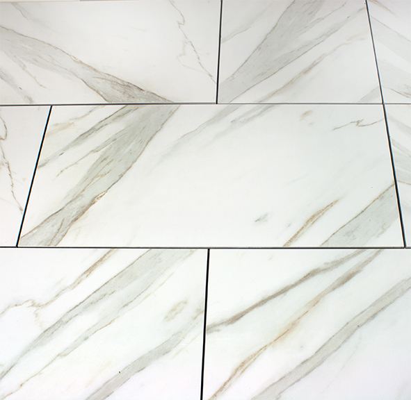 Calacatta Polished Porcelain Tile 12x24 Discounted Sale