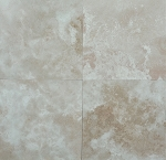 Crema Sardis Premium Travertine | 12x12 | 18x18 | 24x24 | Filled | Honed