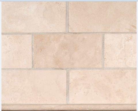 kitchen bath stone mosaic durango cream backsplash 3x6