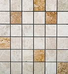 Emperador Light Gold Polished Marble | 2x2 | Mix