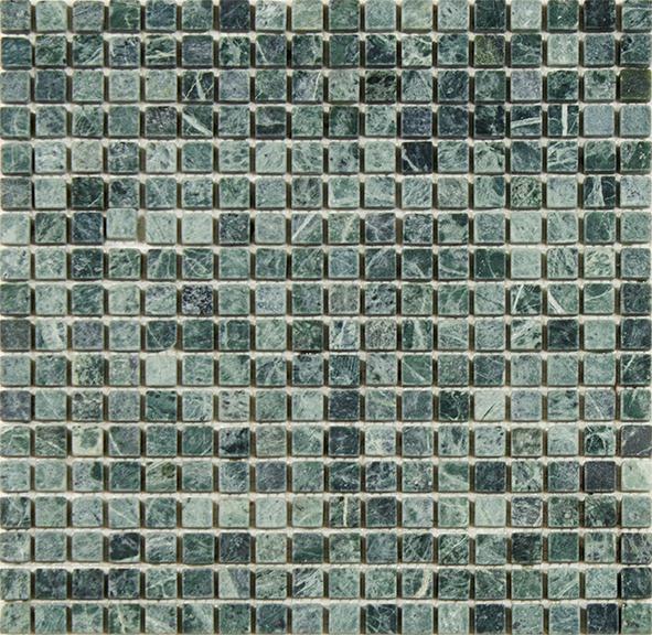 Empress Green Marble Tile : Empress green tumbled mosaic tile