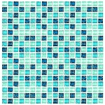 Glass Mosaic | Shades of Blue Crackled | GC5001