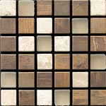 Glass & Stone Mosaic | Coffee | GS5006