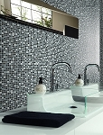 Glass & Stone Mosaic | Grey Tone | GS5008