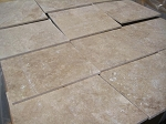Hazelnut Travertine | Filled | 12x12 | Honed