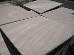 Sedona Honed Sandstone Travertine | 18x18 | Straight Edge