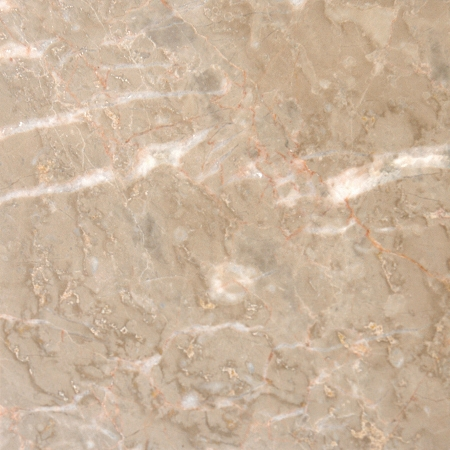 Polished Crema Luna Marble 12x12 Tile