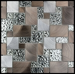 Glass & Metal Mosaic | Metal Mini Pattern