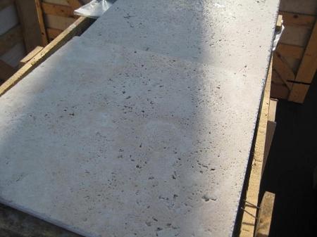 Ivoria Premium 24x24 Chiseled Edge Travertine Tile