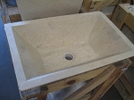 "Rectangular, Ivoria 16""x21"" Sink"