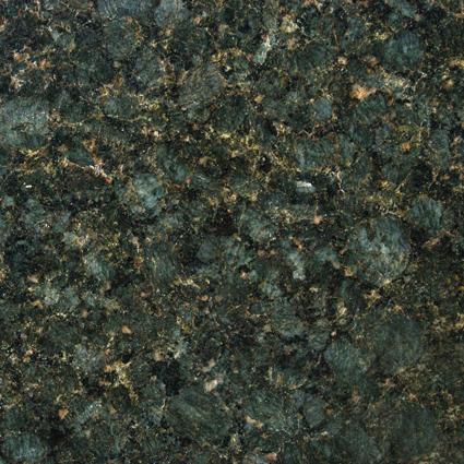 Peacock Green Granite Slab