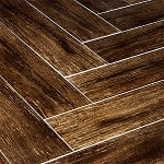 Prestige Walnut | 6x24 | Polished | Wood Plank Porcelain Tile