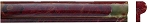 Red Onyx | Chair Rail Molding | 1x2x12 | Polished