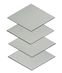 Rhombus Light Grey 6x10