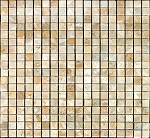Marble Mosaic | Sahara Gold | 5/8 x 5/8 | Polished