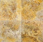 Scabos Travertine | 18x18 | Filled | Honed