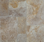 Sierra Rustic Travertine | Versailles Pattern | Chiseled