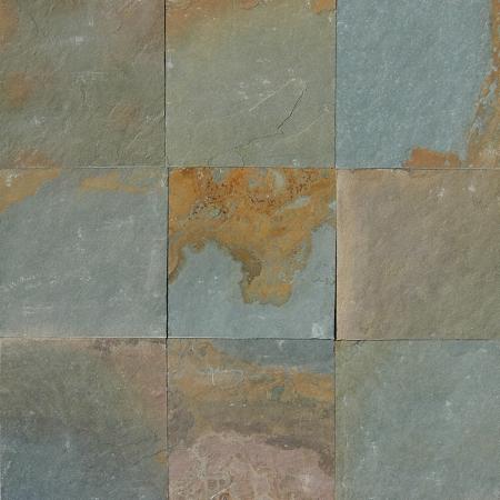 HomeTile FlooringSlate Tile Aqua Rustic Slate