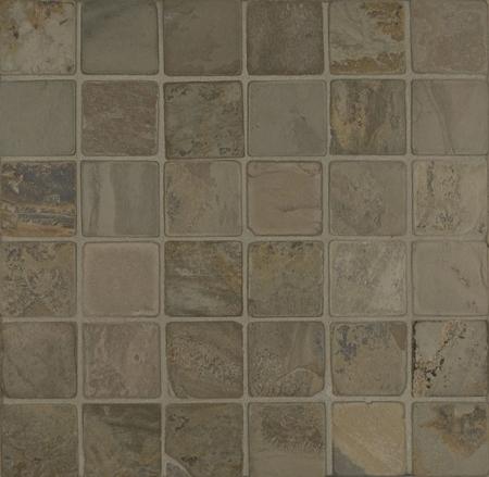Autumn Gold Slate Mosaic 2x2 Tumbled