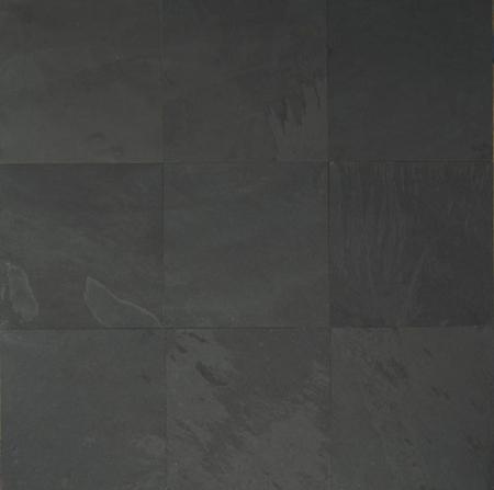 Black Pearl Slate 12x12 16x16 12x24 24x24 Gauged