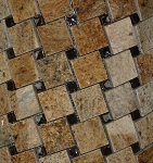 Glass & Stone Mosaic | Colonial Gold