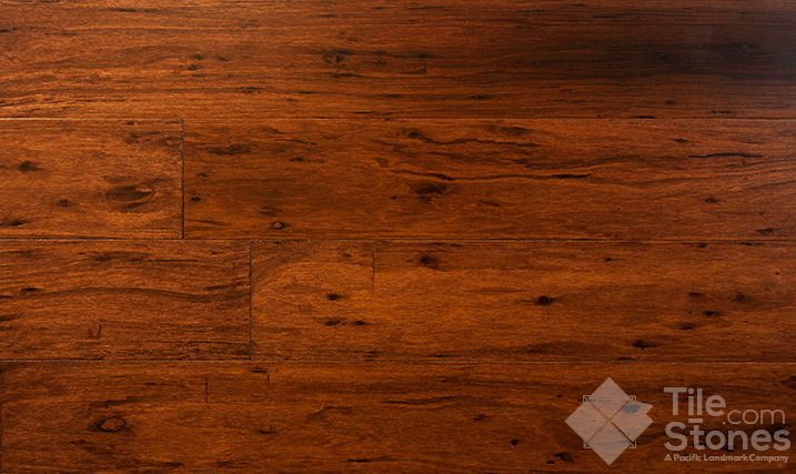Strand Woven Eucalyptus Lava Hardwood Floor