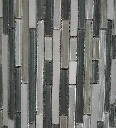 Glass Mosaic Keystone Blend Bamboo