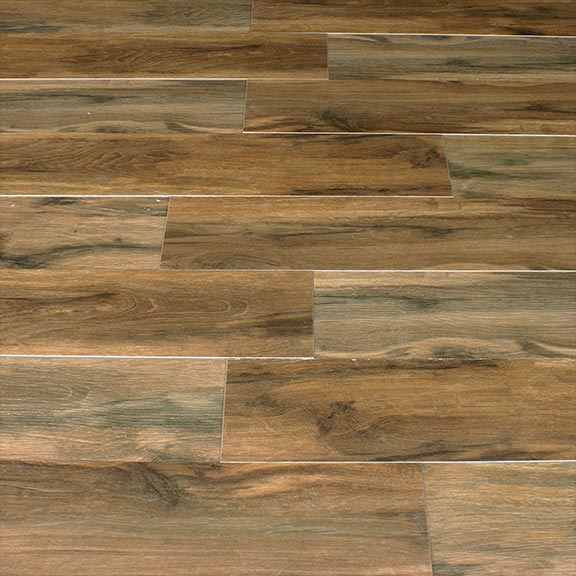 Botanica Cashew 6x36 Wood Plank Porcelain Tile Matte Polished Finish