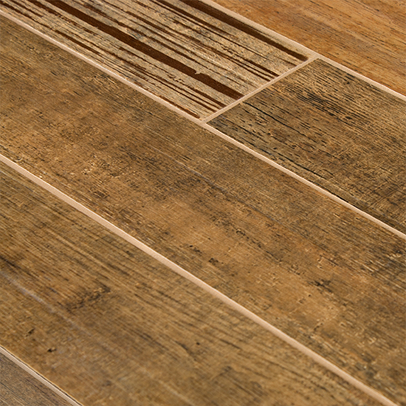 Barrique Series Brun Woodplank Porcelain Tile