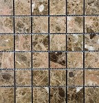 Empreador Dark Stone Mosaic | Polished