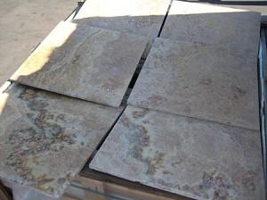 Golden Sienna Multi Travertine 18x18 Warehouse Clearance
