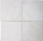 Ivoria Premium Travertine | 18x18 | Tumbled