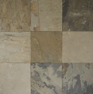 Autumn mist gauged slate 12x12 16x16 24x24 for 16x16 floor tiles price