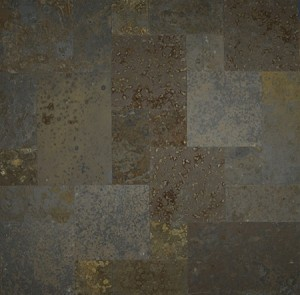 Brazilian Multi Color Slate Versailles Pattern Gauged