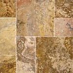 Tuscany Scabos Travertine | Versailles Pattern