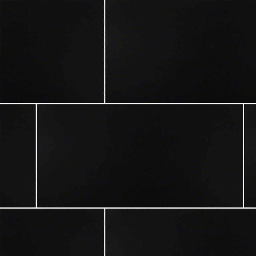 Black Matte 12x24
