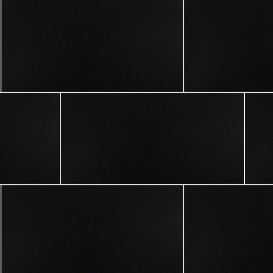 12x24 Black Polished Tile