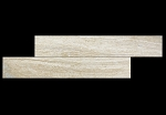 Riviera Travertine Vein Cut Plank | 6x36 | Brushed Filled