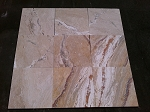 Lugano Onyx Travertine | Filled | 18x18 | Honed